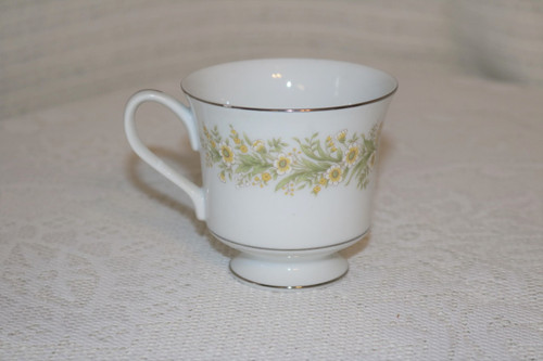Towne Fine China Wild Flowers Coffee Cup