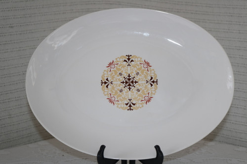 Style House Fine China Napoli Oval Serving Platter