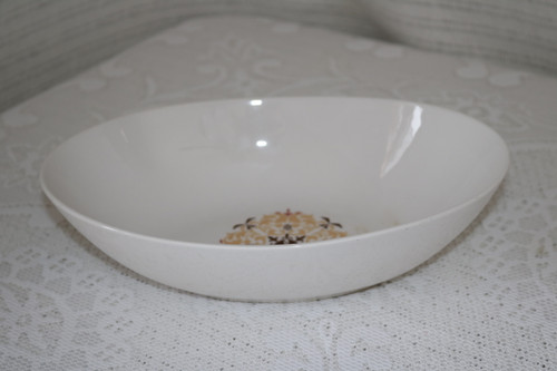 Style House Fine China Napoli Oval Vegetable Serving Bowl
