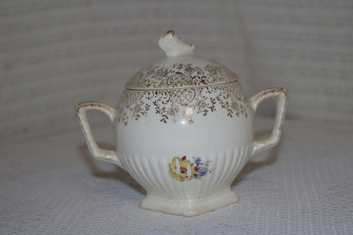 American Homes Dinnerware Dolores Sugar Bowl with Lid