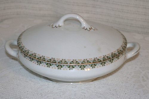 Adolf Persch Round Covered Vegetable Serving Bowl