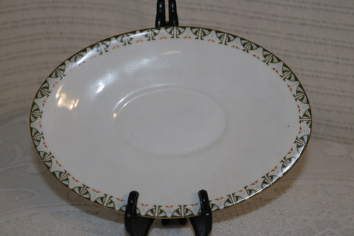 Adolf Persch Gravy Boat Under Plate