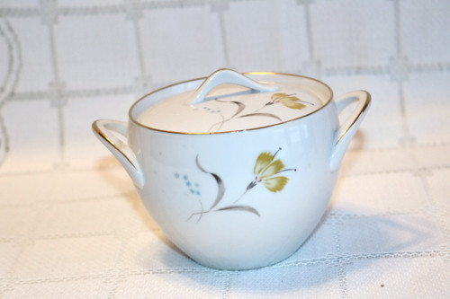Sango China Sugar Bowl with Lid