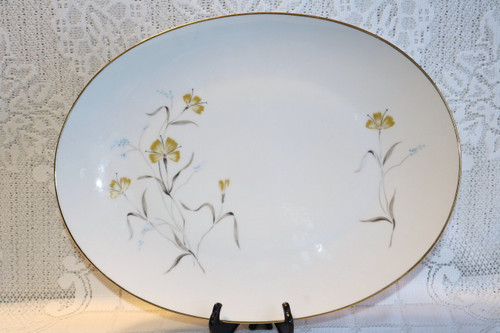 Sango China Oval Serving Platter