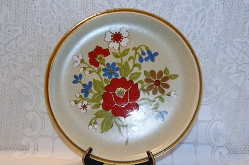 Premiere Fine China Corsage Round Cake Chop Plate