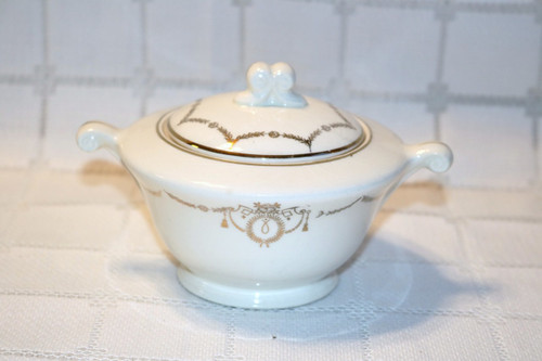 Edwin M. Knowles Adams Sugar Bowl with Lid