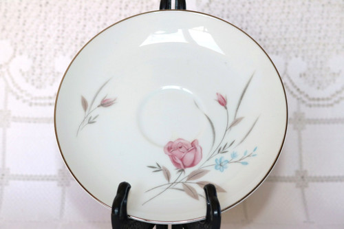 Fashion Manor Fine China New Rose Saucer