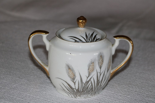 Unknown Sugar Bowl with Lid