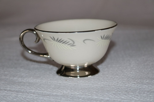Flintridge China Continental White Coffee Cup