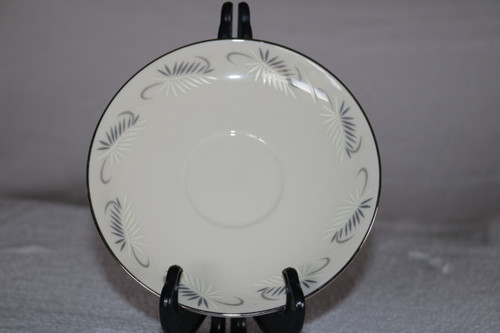 Flintridge China Continental White Saucer