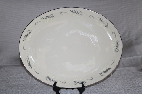 Flintridge China Continental White Oval Serving Platter