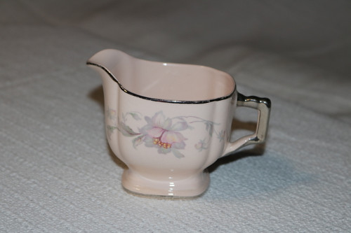 Limoges Silver Moon Creamer