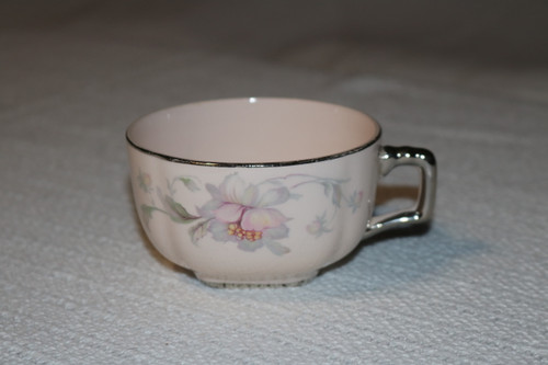 Limoges Silver Moon Coffee Cup
