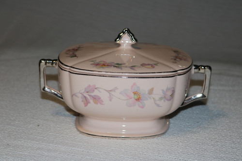 Limoges Silver Moon Round Covered Vegetable Serving Bowl