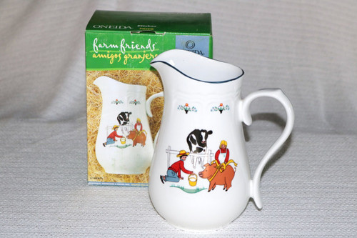 Oneida Farm Friends Boxed Pitcher