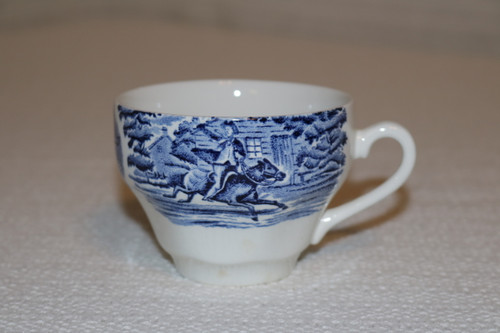 Staffordshire Liberty Blue Coffee Cup