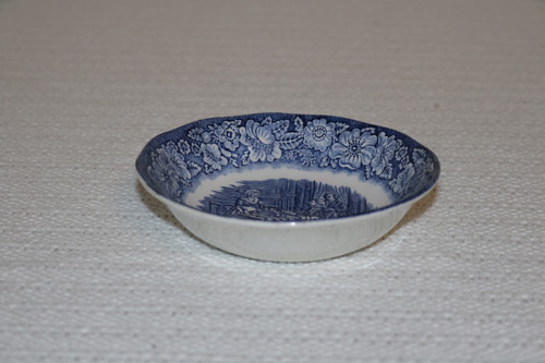 Staffordshire Liberty Blue Berry Bowl