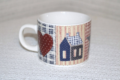 Oneida American Quilt  Coffee Cup