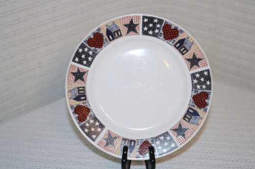 Oneida American Quilt  Salad Plate