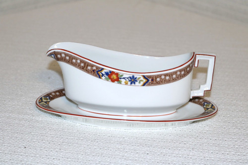 Heinrich - H&C Gravy Boat with Attached Under Plate