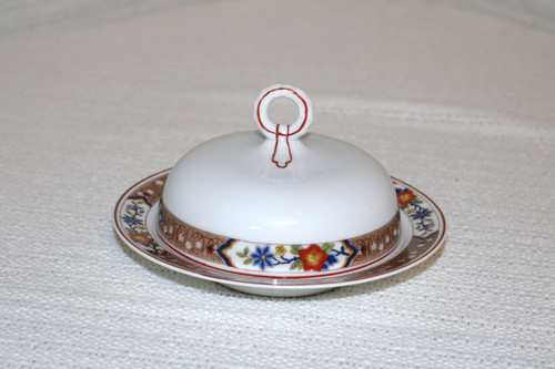 Heinrich - H&C Round Covered Butter Dish