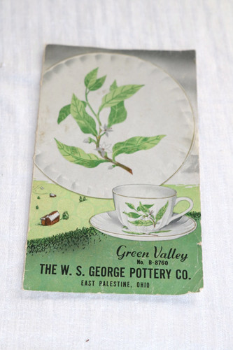 W.S. George Green Valley Advertising Flyer