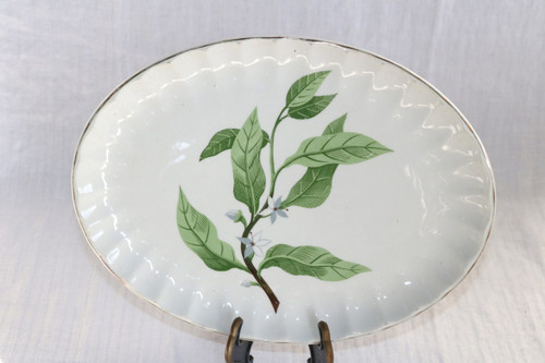 W.S. George Green Valley Oval Serving Platter