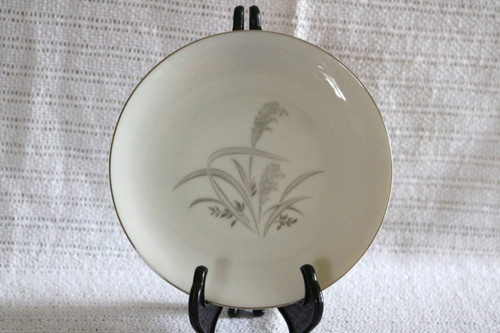 Wentworth Fine China Silver Wheat Bread & Butter Plate