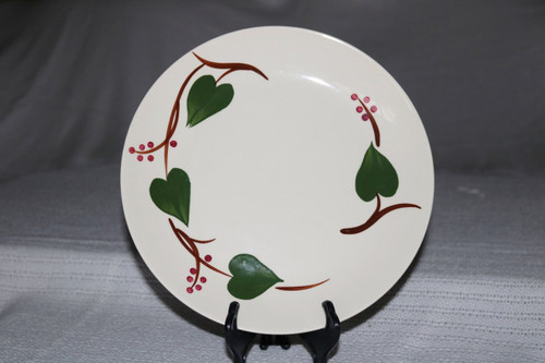 Blue Ridge Southern Pottery Stanhome Ivy Luncheon Plate