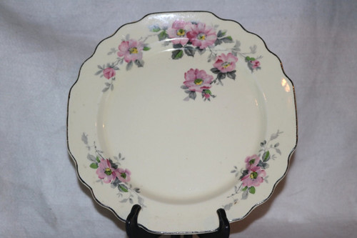 W.S. George Blossoms Luncheon Plate