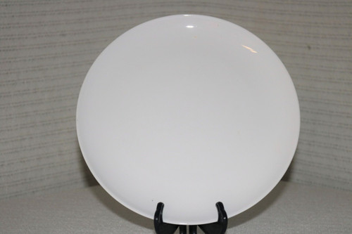 Corning White Coupe Dinner Plate