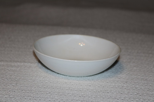 Corning White Coupe Berry Bowl
