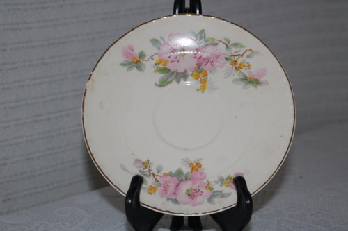 Crooksville Apple Blossom Saucer