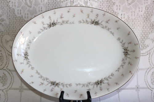 Nagoya Shokai Queen Anne Oval Serving Platter