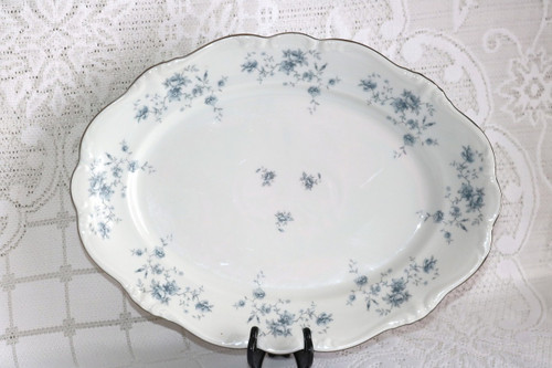 Johann Haviland Blue Garland - Bavaria Oval Serving Platter
