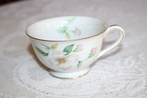 Sango China Apple Blossom Coffee Cup