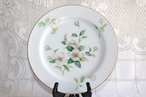 Sango China Apple Blossom Salad Plate