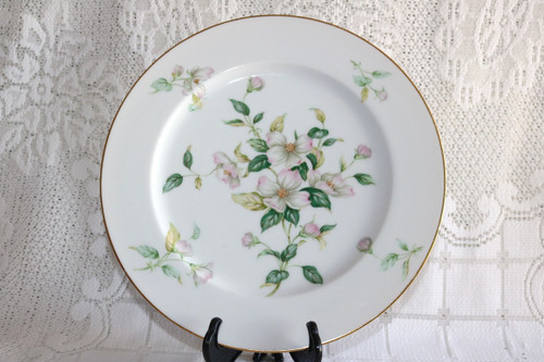 Sango China Apple Blossom Dinner Plate