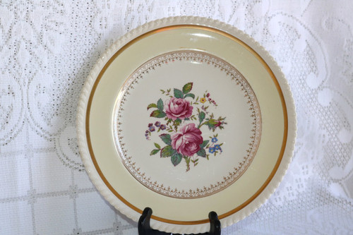 Johnson Brothers Victorian Rose Dinner Plate