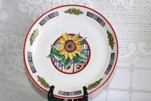 International Tableworks Sunflower Salad Plate