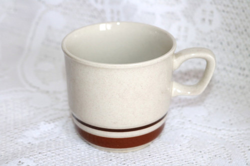 Yamaka China Chateau Sienna Brown Coffee Cup
