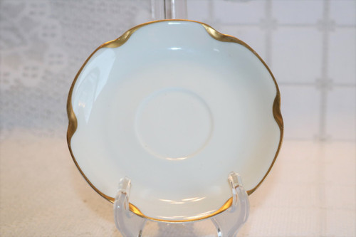 Haviland & Co Silver Anniversary Saucer
