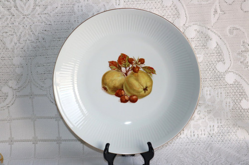 Bareuther Harvest Fruits & Nuts Round Shallow Serving Bowl