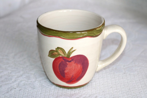 Northcrest Home Apples Coffee Cup