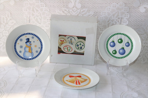 Regal Greetings & Gifts Primes De Luxe New Boxed Set 3 Dessert Plates