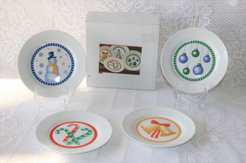 Regal Greetings & Gifts Primes De Luxe New Boxed Set 4 Dessert Plates