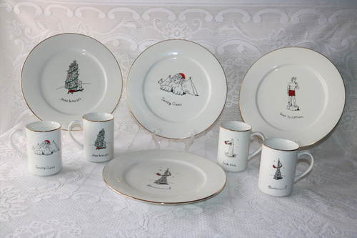 Dayton Hudson International Collection 8 Piece Set