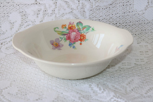 Crown Potteries Co 7365 Lugged Cereal Bowl