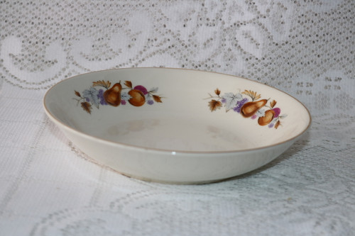 Royal Taunton Autumn Fruit Soup Bowl