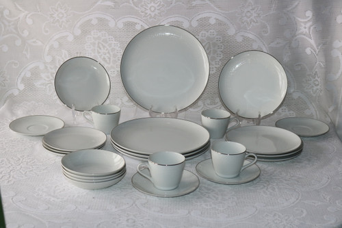 Rose China Adriana 24 Piece Set